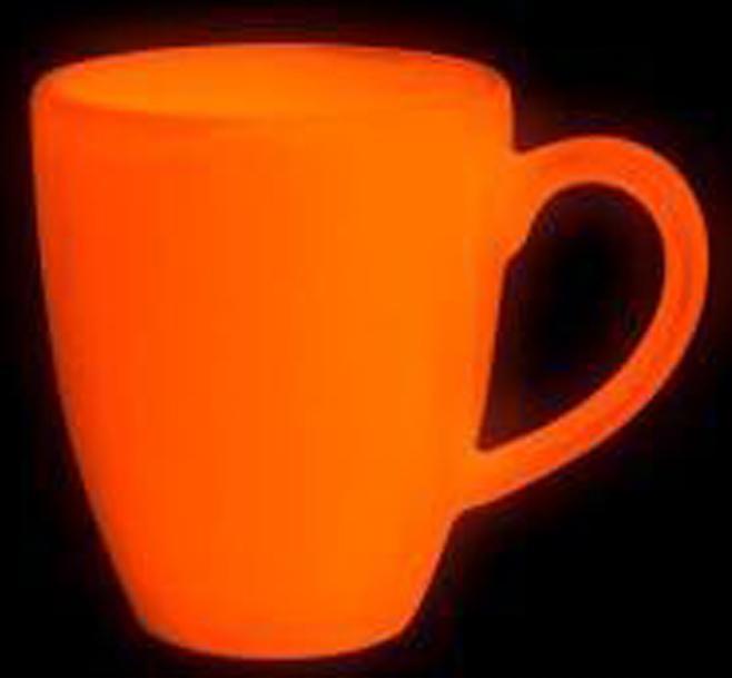 C-64夜光粉橙色